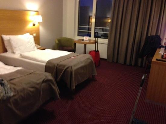 Jurys Inn Hotel Prague: our room