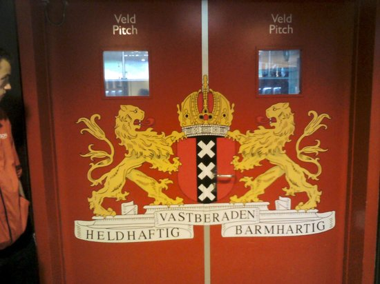 Amsterdam ArenA: Porta para entrada do gramado