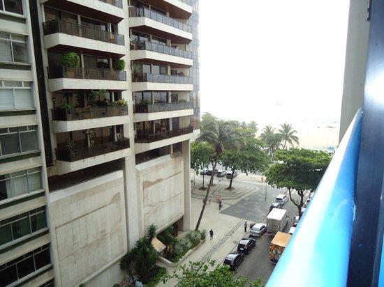 Oceano Copacabana Hotel: vista para a praia