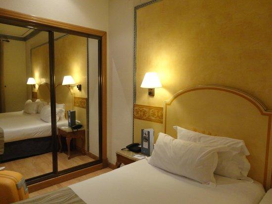 Hotel Eurostars Regina: camera