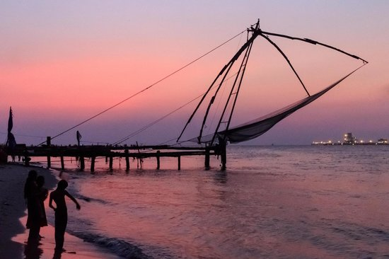 Chinese Fishing Nets : Sunset