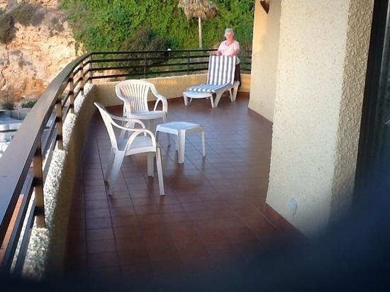 Melia Costa del Sol: lovely corner balcony