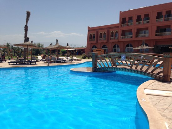 Aqua Fun Club Marrakech : Pool by block c
