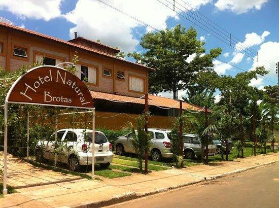 Hotel Natural: A frente da Pousada Natural
