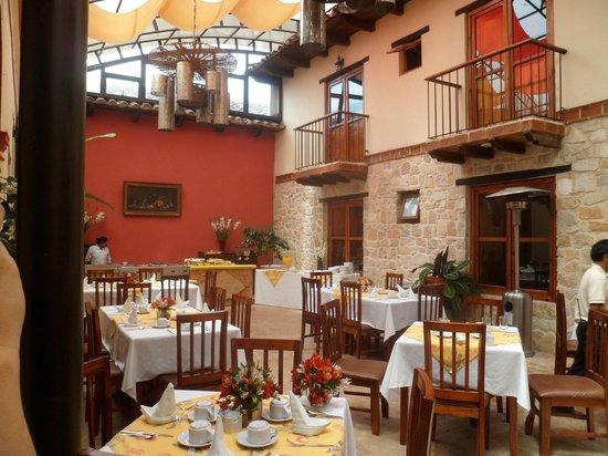 هوتل سان ماركوس: restaurant