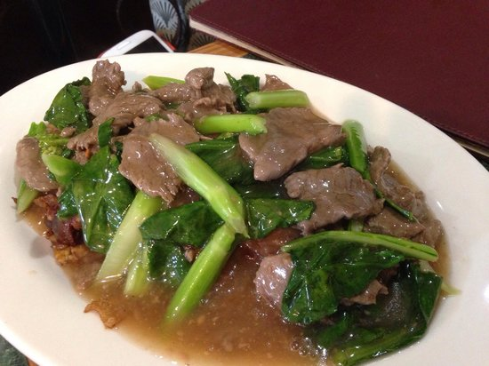 Thmor Da Restaurant: Beef chow fun