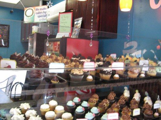 Cupcake Kitchen: Display of treats
