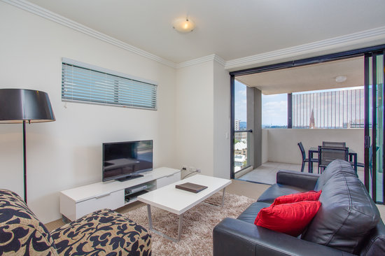Republic Apartments: Two bedroom apartment lounge