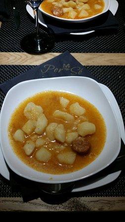 Per SE Gastrobar: Patatas a la riojana Per Se