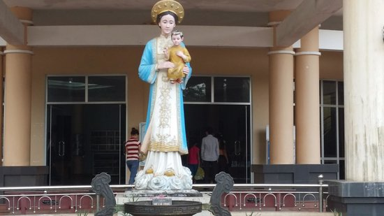 The Shrine of Our Lady of La Vang: Rectory and Souvenir shop