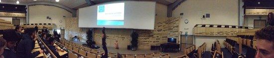 CERN Univers de particules: Sala conferenze