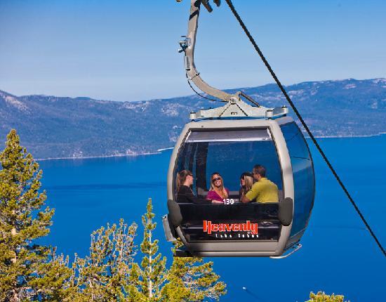 South Lake Tahoe, CA: Heavenly Gondola