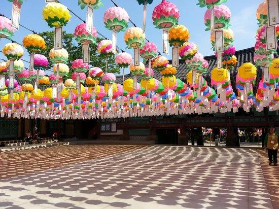 Yongjusa Temple: 부처님오신날 등