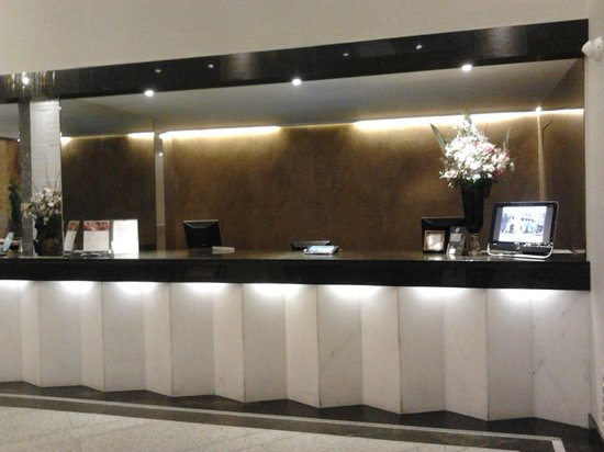 Bourbon Curitiba Convention Hotel : Recepção