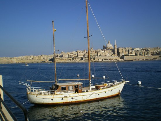 Le Meridien St. Julians: Valletta from Sliema