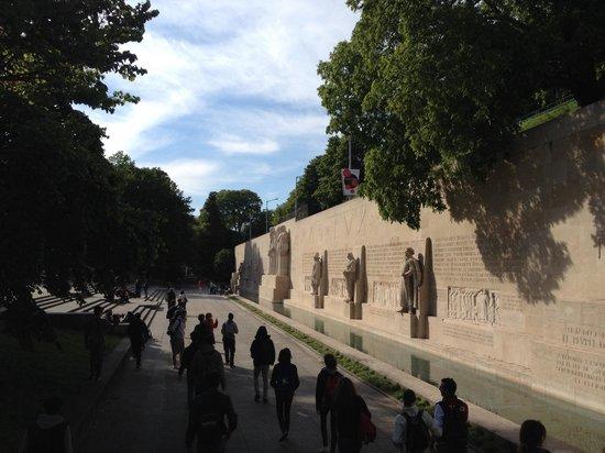Reformation Wall (Mur de la Reformation): Il muro