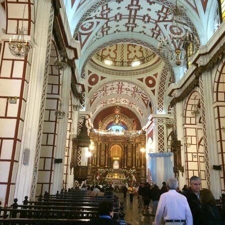 Iglesia y Convento de San Francisco: Altar mayor