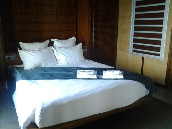 L'Escapade Island Resort : La chambre