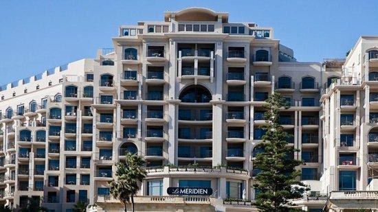 Le Meridien St. Julians: le Meridean 5 star Hotel, Baluta Bay, St Julians