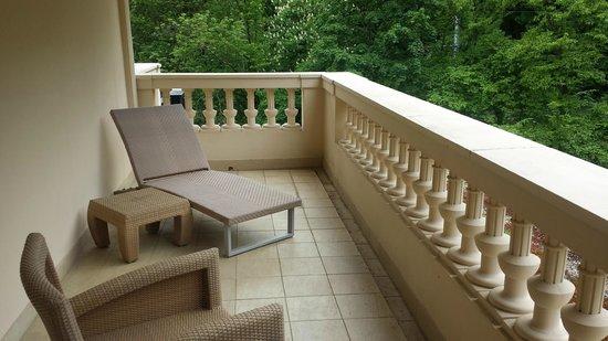 Pavillon de la Rotonde: Balcony