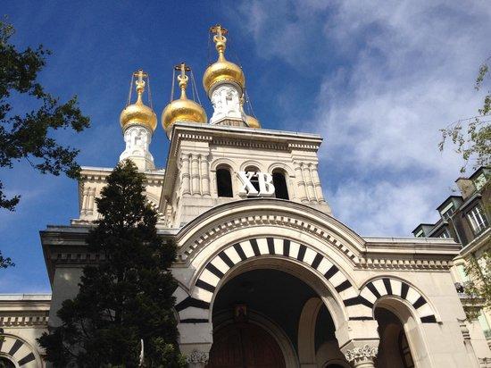 Eglise Russe : Facciata