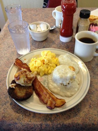 Cottage Salad Station and Deli : My trip to the breakfast bar