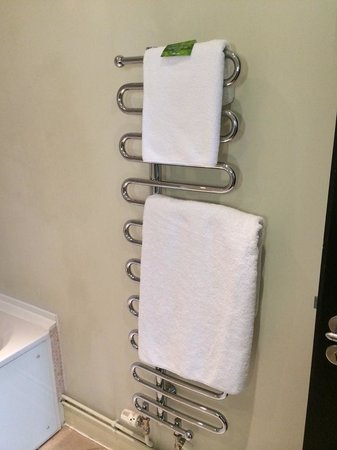 ABode Manchester: heated towel rack