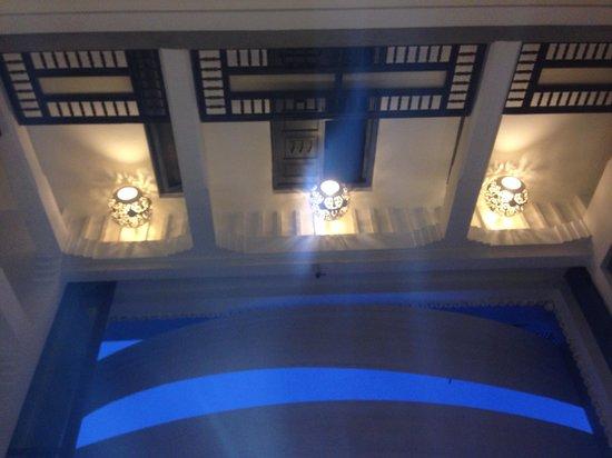 Riad Awa: Vue de bas en haut