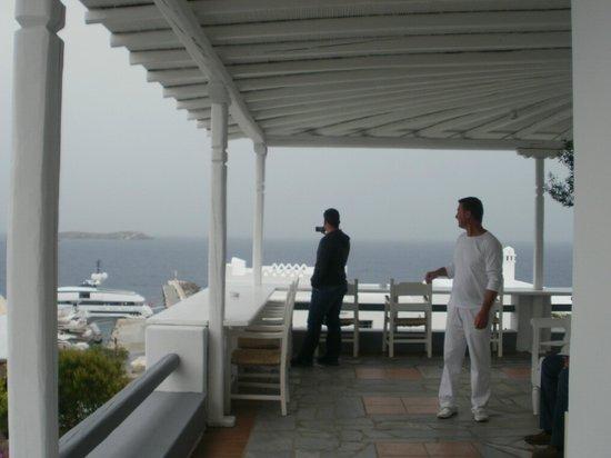 Porto Mykonos Hotel : De qualquer lugar do Hotel, a vista é sempre maravilhosa, e a sensação é de muita paz!