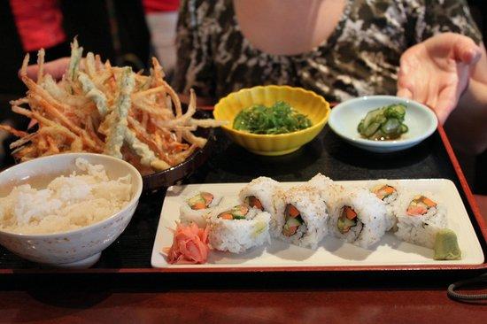 Tokyo Dining: l'assiette végée