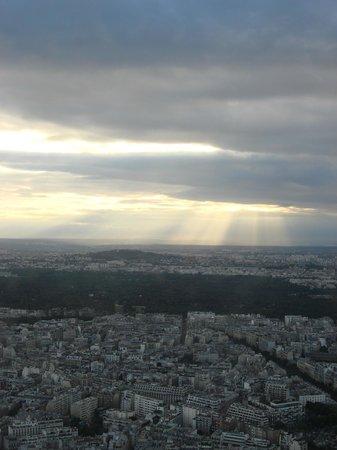 Tour Eiffel : Mais uma vista lá de cima