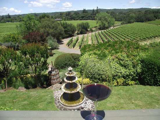 Passalacqua Winery : The grounds