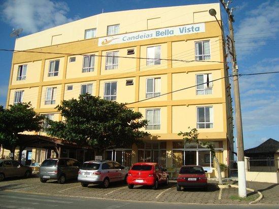 Barra Velha, SC: Fachada do Hotel