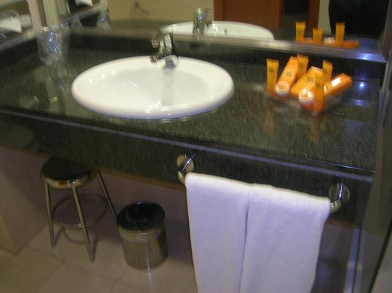 Madrid Marriott Auditorium Hotel & Conference Center: bathroom