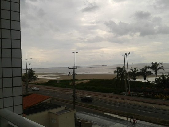 Calhau Praia Hotel: vista para o mar.