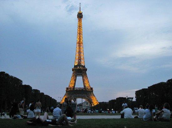 Tour Eiffel : Entardecer