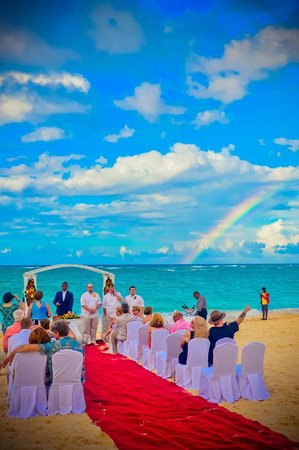 Iberostar Punta Cana: the rainbow that appeared on our wedding day..BEAUTIFUL