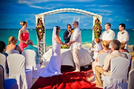 Iberostar Punta Cana: Our wedding ceremony