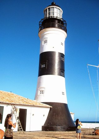 Santo Antonio da Barra fort and Nautic Museum: Farol