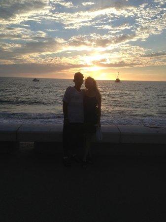 El Centro : Malecon sunset