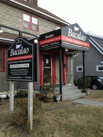 Bacalao - Nouvelle Newfoundland Cuisine: The restaurant
