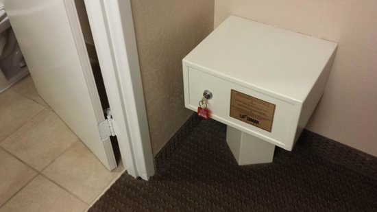 Quality Inn & Suites of Battle Creek : safe in the room