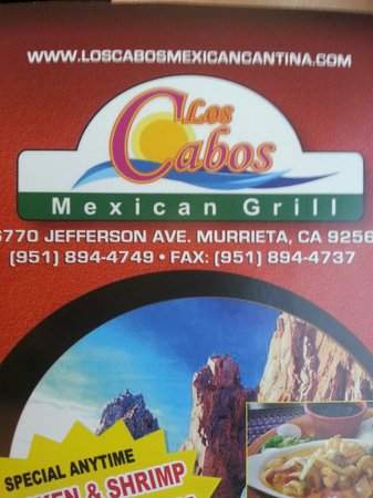 Los Cabos Mexican Grill: Really nice place, out of no where! :-)
