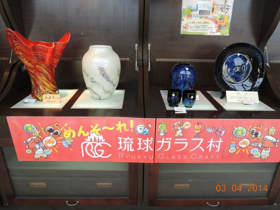 Ryukyu Glass Village (Craft) : Artesanatos diversos em vidro