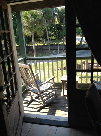 St. George Inn: French Doors to Balcony