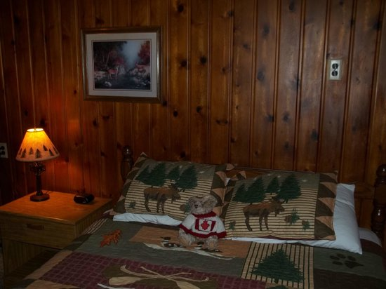 Terrace Motel: Comfortable room, nice decor