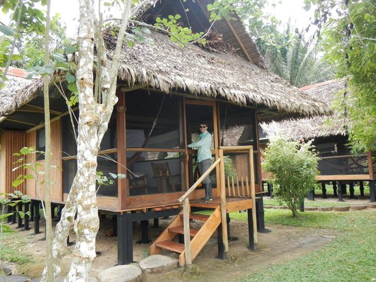 Inkaterra Reserva Amazonica: our home on the river!