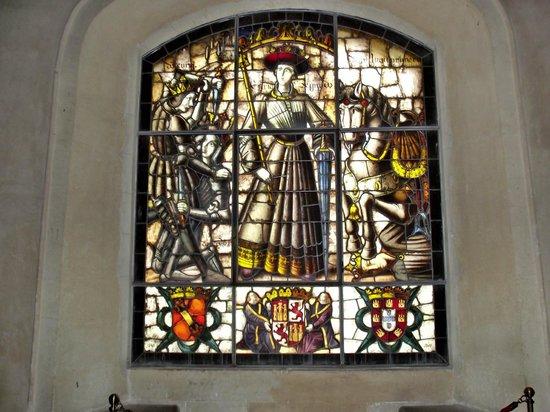 Alcazar de Segovia: Um dos inúmeros vitrais maravilhosos