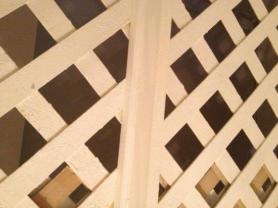 The Bowery House: Le camere sono con questi soffitti aperti per 130 dollari a notte