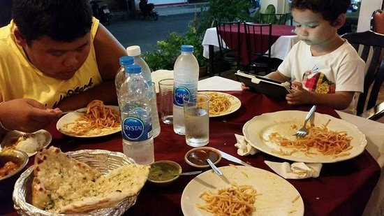 New Tandoor: Spaghetti Special Ordered